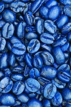 okay but it's blue coffee beans. Azul Indigo, Bleu Indigo, Cobalt Blue, Blue Green, Blue And White, Cerulean, Magenta, Aqua, Turquoise