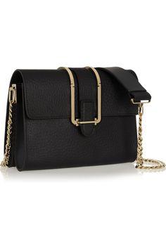 Chloé|Bronte textured-leather shoulder bag|NET-A-PORTER.COM
