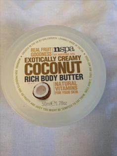 Nirvana Spa Coconut body butter