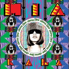 Album: Kala Artwork: Carri Mundane & Steve Loveridge The second studio album by English-Sri Lankan rapper, songwriter, and producer M. The album is named after her mother, in contrast to her first album Arular, which Greatest Album Covers, Cool Album Covers, Music Album Covers, Music Albums, Book Covers, Manu Chao, Pretty Reckless, The White Stripes, World Music