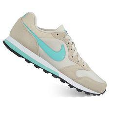 New Nike Women's Md Runner 2 Running Shoes Size 11 Bone / Blue *FREE SHIPPING* #Nike #RunningCrossTraining
