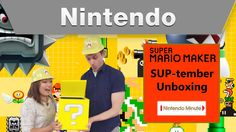 6 Days remaining till the release of  Super Mario Maker for the Wii U  Of course the stream will be a 2 hour stream  and will start between September 17th-19th  Follow me on Twitter for when exactly I'll be doing this live on Twitch,  Unbox it careful and as always  DO THE MARIO!!! :)