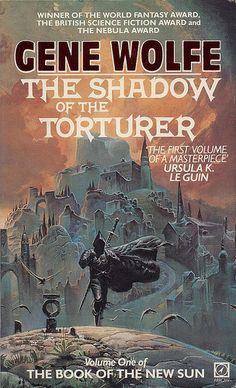 The Book of the New Sun The Shadow of the Torturer von Gene Wolfe Fantasy Book Covers, Book Cover Art, Fantasy Books, Book Cover Design, Fantasy Art, Sci Fi Novels, Sci Fi Books, Fiction Books, Pulp Fiction