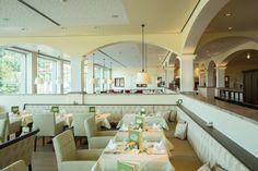 Genuss pur gibt es im Restaurant vom Quellenhote. Mehr Information: www.heiltherme