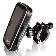 B-Speech  I-SMART-CYCLE Supporto da bici per Smartphone e Cellulari, Ruotabile 360°