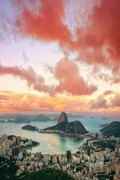 Crazy beautiful shot of Rio de Janeiro, Brazil.