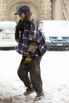 The Sartorialist // On the Street…..Snow Weather, Paris