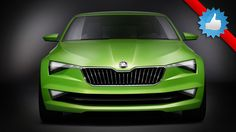 2016 Skoda VisionC concept, scheduled to debut at the 2014 Geneva Motor Show - The new VisionC concept from Skoda, which previews the styling of a new five-door 'liftback' model due in 2016.
