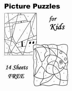 Free Picture Puzzles for Kids!