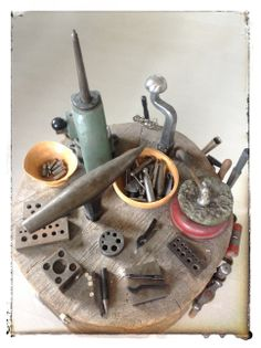 """Froydis Knapstad said:""""Jewelery equipment  from my mothers studio where I was trained fore many years ago ...."""""""