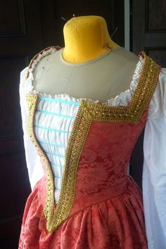 The Costumer's Closet: The HSF '14: Challenge #18: Poetry in Motion - A Venetian gown inspired by Veronica Franco