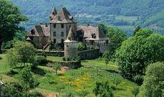 Château de Vixouze near Polminhac - Cantal, Auvergne