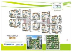 Rainbow Vistas is a premium Gated community spread across 22 acres with ready to occupy luxurious and 4 BHK flats near hitech city Hyderabad. Garden Floor, Master Plan, Gated Community, Apartments For Sale, Hyderabad, Photo Wall, Floor Plans, Rainbow, India