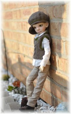 NEW Maurice BY Kaye Wiggs Full SET Outfit WIG Eyes MSD BJD Fair Skin NO Freckles | eBay