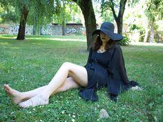 goth nyári köntös