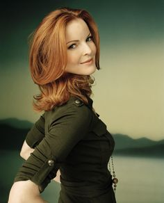 Valerie Crawford inspiration (Marcia Cross)