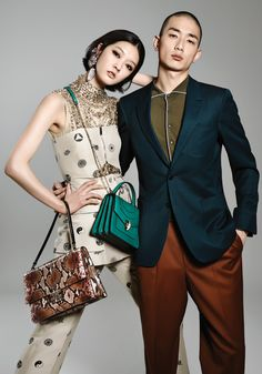 Park Sung Jin, Kang So Young by Jung Ji Eun for Style Chosun April 2015