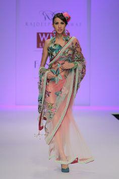 Rajdeep Ranawat of India - Spring Summer Sari Collection