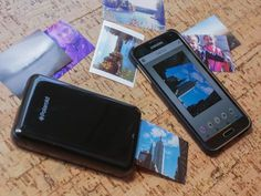 Polaroid Zip mobile printer: review - CNET  Look into mobile printers for guest photos
