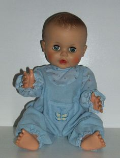 """15"""" DRINK & WET BABY DOLL by EEGEE 1950s - 60s"""