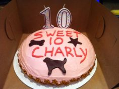 Birthday cake for Charly!