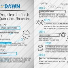 Here you easily get that how to read Quran during Ramadan, how to finish it, before Ramadan is gone.