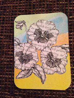 Artist Trading Card by jessieorganizes