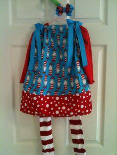 Dr. Seuss dress for the girl
