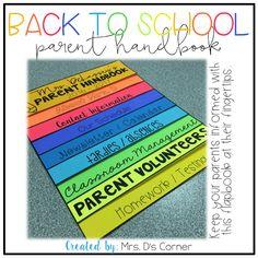 https://www.teacherspayteachers.com/Product/Editable-Back-to-School-Parent-Handbook-Flapbook-1332129