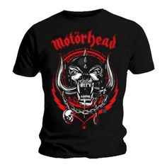 3c87c0d4437 Official Mens T Shirt Motorhead - Lightning Wreath (Black)