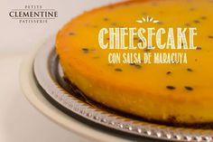 Cheesecake Una torta llena de Sabor! Delicioso Cheesecake con salsa de Maracuyá Comprá Ahora y Disfrutá con Estilo