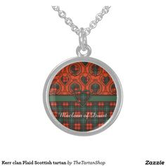 Kerr clan Plaid Scottish tartan