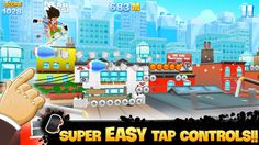 Top Free iPhone App #5: Skyline Skaters - Tactile Entertainment by Tactile Entertainment - 04/05/2014