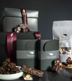 We created this unique Luxury Gift Box for customers who are searching for delicious and remarkable vegan chocolate. This gift comes in a black box with our signature ribbon.