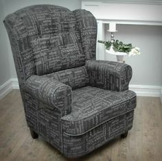 "Have one to sell? Sell it yourself Details about  Armchair ""Carpe Diem"" Handmade Vintage Retro Style Grey color NEW!"