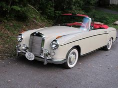 1960 Mercedes Benz 220 SE Cabriolet restored by Silver Star Restorations www.silverstarrestorations.com