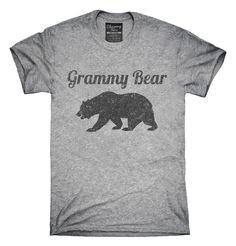 Grammy Bear Funny Grandma Gift T-shirts, Hoodies,