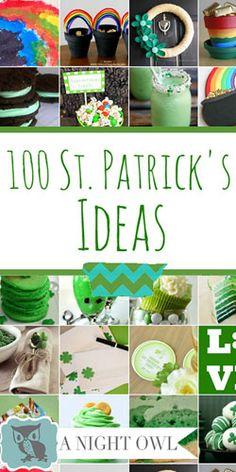100 St. Patrick�s Day Ideas