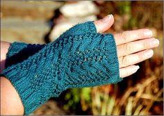 вязаные перчатки без пальцев крючком - Поиск в Google