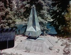 The Obelisk 6.12.68 | The asteroid deflector which opened at… | Flickr