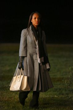 That coat is everything! Olivia Pope style is AMAZING