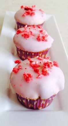 Aardbeiencupcakes