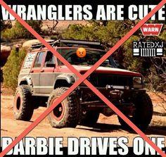 Stop the Jeep Beef!...XJ,CJ,YJ,TJ,JK...We're all family! #JeepLove  ✌️😎