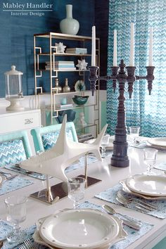 House of Turquoise: Mabley Handler Interior Design