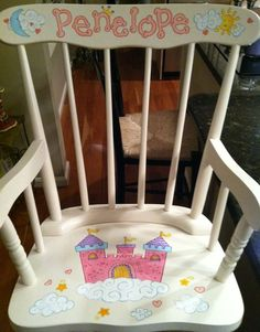 Painted Children 39 S Furniture On Pinterest Childs Rocking Chair Rocking