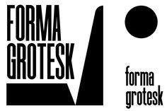 FORMA GROTESK on Behance