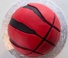 Raptors basketball cake for a birthday Birthday Party Drinks, Basketball Birthday Parties, Birthday Party Centerpieces, 40th Birthday, Birthday Ideas, Basketball Boyfriend, Love And Basketball, Basketball Design, Basketball Jersey