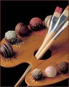 For the love of art and chocolate