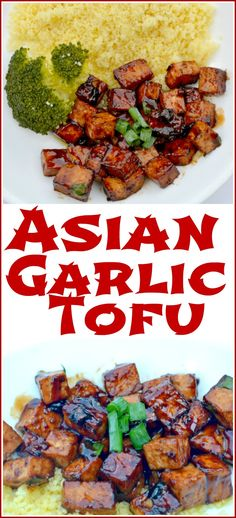 Delicious & Vegan Asian Garlic Tofu