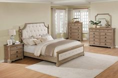 Shop for Piraeus 296 Solid Wood Construction Bedroom Set with King Size Bed, Dresser, Mirror, Chest and Night Stand. Get free delivery On EVERYTHING* Overstock - Your Online Furniture Shop! Get in rewards with Club O! 5 Piece Bedroom Set, King Bedroom Sets, Oak Bedroom, Bedroom Furniture Sets, Master Bedrooms, Bedroom Decor, Bedding Decor, Furniture Layout, White Bedroom